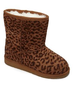 Loving this Leopard Microfiber Boot on #zulily! #zulilyfinds