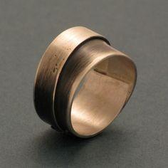 Ringe - Gewickelter Ring, schmal - ein Designerstück von schmucker_schmuck bei DaWanda