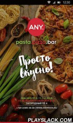 Any Pasta  Android App - playslack.com ,  О насСеть ресторанов Any Pasta - просто вкусно! Популярные блюда классической итальянской кухни, приготовленные из качественных продуктов, без консервантов и усилителей вкуса. Современные технологии приготовления, сохраняющие полезные свойства продуктов. Основа меню ресторанов - это свежайшая паста собственного приготовления и домашние лимонады. free wi-fi Часы работы: 10:00 - 23:00Наши адреса:Невский пр., д 11 ул. Большая Пушкарская, д. 42Загородный…