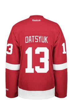 40% OFF | Pavel Datsyuk Reebok Detroit Womens Premier Player Red Hockey Jersey