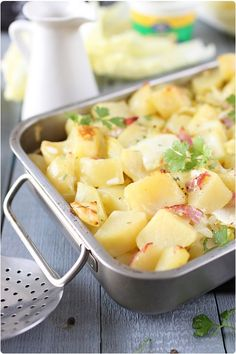 Gratin de pommes de terre à la cancoillotte à l'ail