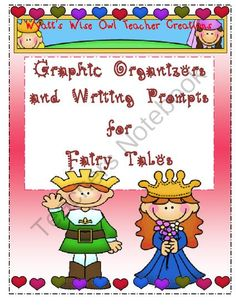 Dollar Deals!!  Unit ONLY $1.00  Graphic Organizers and Writing Prompts for Fairy Tales Unit Includes:  Compare and Contrast  Sequence  Story Map  Main Idea  Cause and Effect  Writing Prompts  Stationary