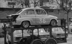 Fiat 500, Turin, Classic Auto, Classic Cars, Carrera, Porsche, Gilles Villeneuve, Car Carrier, Car Trailer