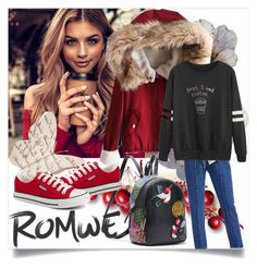 """""""ROMWE II/7"""" by betty-boop23 ❤ liked on Polyvore featuring romwe"""