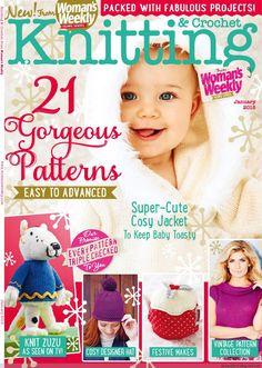 Knitting  Crochet – January 2015 - Trié Tea cozy fraise