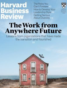 download Harvard Business Review USA magazine November-December 2020 issue