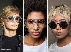 Spring/ Summer 2017 Eyewear Trends: Sunglasses with Double Wire Rims