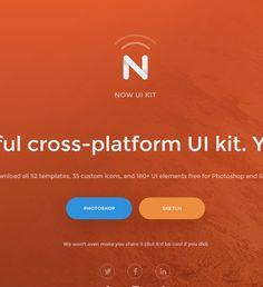 Free cross-platform UI kit for Photoshop and Sketch | InVision