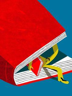 Es hora de surgir de la lectura (ilustración de Joao Fazenda)