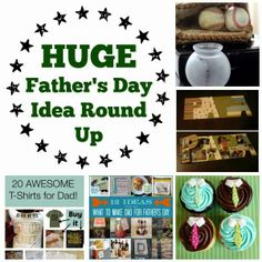 CONTROLLING Craziness: HUGE Father's Day Idea Roundup - gifts, crafts, food, printables, cards, quotes...