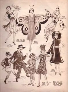 Vintage Sewing Pattern Catalogue – Fancy Dress For Children – Vintage Knitting Pattern Archive Vintage Knitting, Vintage Sewing Patterns, Mujeres Tattoo, Victorian Gentleman, 18th Century Costume, Red Indian, Victorian Costume, Victorian Fancy Dress, Mode Vintage