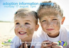 In Wilts, Hants and Dorset and thinking of adoption? Our next info evening is on Monday 17 August. Call 01202 456743