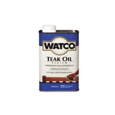 RUST-OLEUM A67141 Watco Quart Teak Oil Finish One-Step Protection