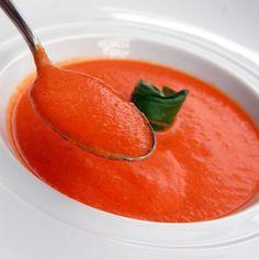 Mincir avec thermomix - Spécial régime DUKAN : Soupe à la tomate et au basilic - DUKAN