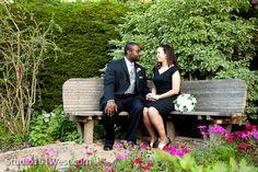 Buttefly Garden bench; Cambria Pines Lodge Wedding ~ Dennis Swanson's Blog