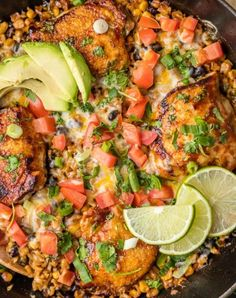 Easy One Pan Cheesy BBQ Ranch Chicken Skillet - Recipe, Wonderful Flavors, Perfect,Main Dish, Quick