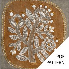 contemporary embroidery kits and embroidery patterns. Embroidery Designs, Garden Embroidery, Embroidery Shop, Embroidery Thread, Contemporary Embroidery, Modern Embroidery, Linen Stitch, Ribbon Art, Nature Prints