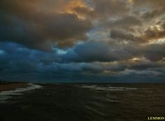 Outer Banks NC Local Artists Facebook post 10/12/14:  Hatteras Island storm brewing.   Photographer credit: Mark Lemmon.