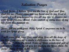 Salvation Prayer, Faith Prayer, Savior, Jesus Christ, Presence Of The Lord, Jesus Today, All Sins, Cleanse Me, The Son Of Man