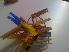 Môj postup na srdiečko 19 Newspaper Crafts, Origami, Paper Straws, Paper Mache, Hearts, Crafts, Origami Paper, Origami Art