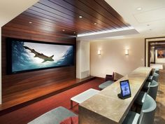 Home Theater Flat Screen <3