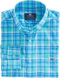 Shop mens sport shirts at vineyard vines Fashion Wear, Mens Fashion, Casual Shirts, Casual Outfits, Men's Chinos, Casual Wear For Men, Werewolves, Flannel Shirt, Stylish Men