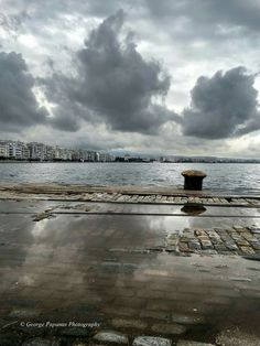 Thessaloniki, Macedonia, Nymph, Daydream, Past, Places To Visit, Clouds, City, Beach