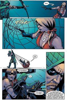 Harley vs Green Arrow