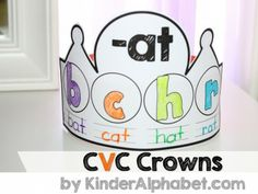 cvc word families crowns