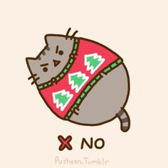 Pusheen the cat * ¡Nyan Cat (arriba)! Pusheen Gif, Pusheen Love, Cute Cartoon Drawings, Kawaii Drawings, Crazy Cat Lady, Crazy Cats, Pusheen Christmas, Minecraft Pixel Art, Minecraft Crafts