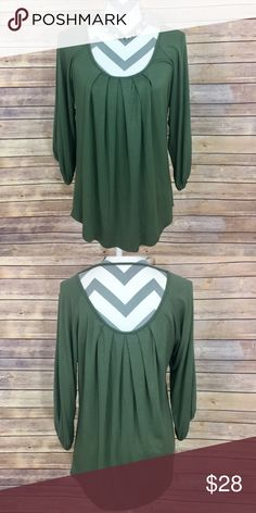 """✨Ella Moss Top✨ Small. 95% Rayon 5% spandex 26"""" length     💕Need any other information? Measurements? Materials? Feel free to ask! 💕Unfortunately, I am unable to model items!  💕Don't be shy, I always welcome reasonable offers! 💕Fast shipping! Same or next day! 💕Sorry, no trades!  Happy Poshing!☺️ Ella Moss Tops"""