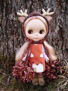 deer pixie hat by maidensuit
