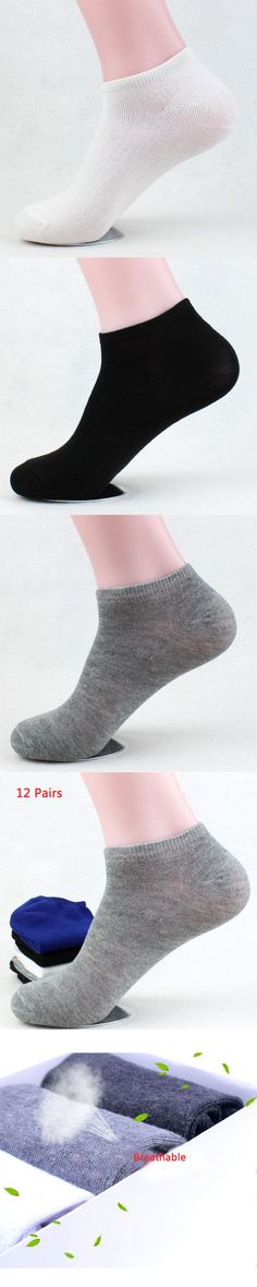 12 Pairs Stylish Male Men Boys 100% Cotton Ankle Warm Stretchy Casual Socks Panty Women Socks Hose Harajuku style Skateboard