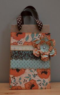 "authentique paper ""gathering"" collection / gift bag <3"