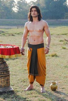 Aham Sharma as Karna  One of my favourite cast on Mahabharat