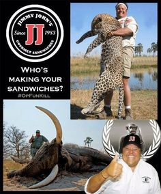 Some companies should be boycotted for various reasons. Jimmy John's is ABSOLUTELY one of them. And no, this isn't about many of the issues people are...