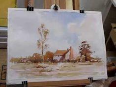 Loose watercolor the Edward Seago way with Alan Owen (+playlist)