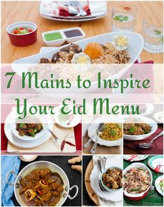 A collection of festive rice and Biryani recipes for Eid. Yumm...Some one needs to make these for me this Eid.