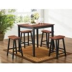 Coaster Furniture - 5 Piece Yates Counter Height Pub Table Set - 150293N-5SET   SPECIAL PRICE: $392.35