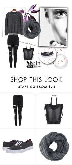 """""""Untitled #192"""" by edinah-91 ❤ liked on Polyvore featuring Topshop, Vans, women's clothing, women, female, woman, misses and juniors"""