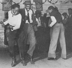 Juke Joint Dancers. Check out her boots. And dudes knickerbockers!