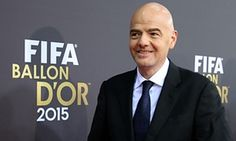 Fifa presidency: German FA backs Gianni Infantino to replace Sepp Blatter