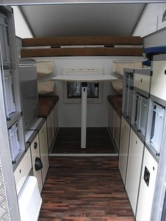 EXKAB 2 Slide In Truck Campers, Cargo Trailer Camper, Camper Caravan, Off Road Camper, Cargo Trailers, Rv Campers, Landrover Defender, Pickup Camping, Pick Up
