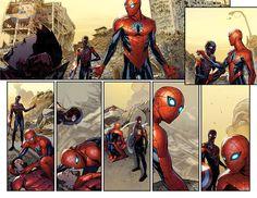 """""""Spider-Man"""" #2 art by Sara Pichelli & Justin Ponsor"""