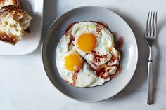 Genius Fried Eggs with Wine Vinegar : Food52