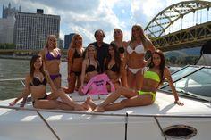 PA Bikini Team Group Photo Shoot @ PNC Park, Pittsburgh on 10/6/13 for 2014 PA Bikini Team Wall Calendar