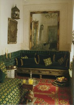 The home of Laure Welfling and her husband Gee Pee.  Photographed by Roland Beaufre. World of Interiors, August 2008.