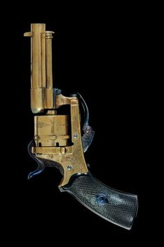 A rare 5 mm cal. pin-fire revolver in brass, Belgium, 3rd quarter 19th century.