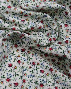 Liberty Kingly Cord Fabric - Rosy in Red  £15.00 per mtr @ trurofabrics.com