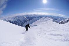 So wie hier in den Selkirk Mountains in British Columbia: Unberührter...